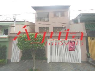 Sobrado Residencial à venda, Vila Francisco Matarazzo, Santo André - SO0232.