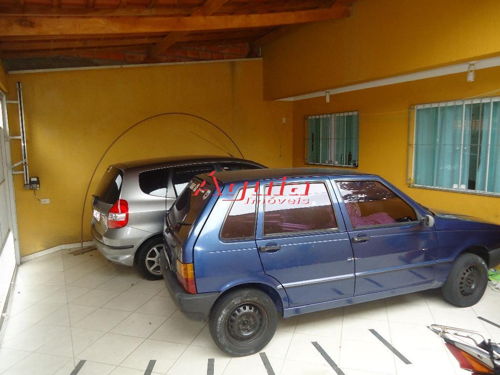 Sobrado residencial à venda, Jardim Utinga, Santo André - SO0441.