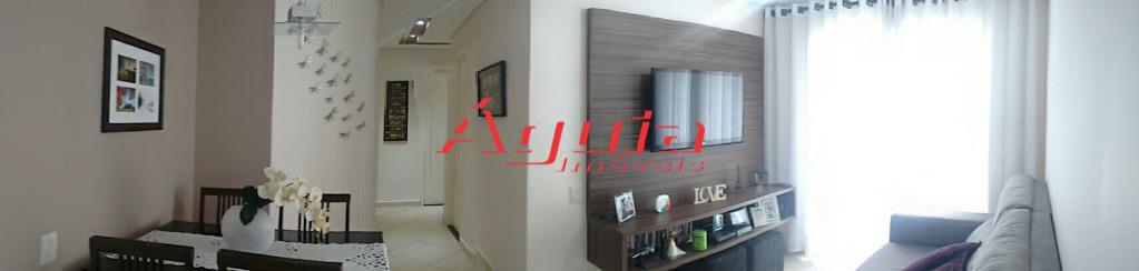 Apartamento de 2 dormitórios em Jardim Santo André, Santo André - SP