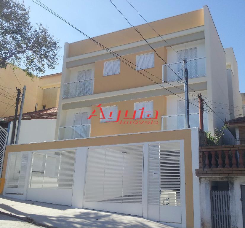 Cobertura  residencial à venda, Jardim Santo Antônio, Santo André.