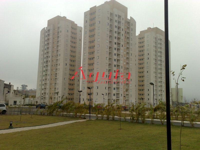 Apartamento residencial à venda, Parque Novo Oratório, Santo André - AP0695.