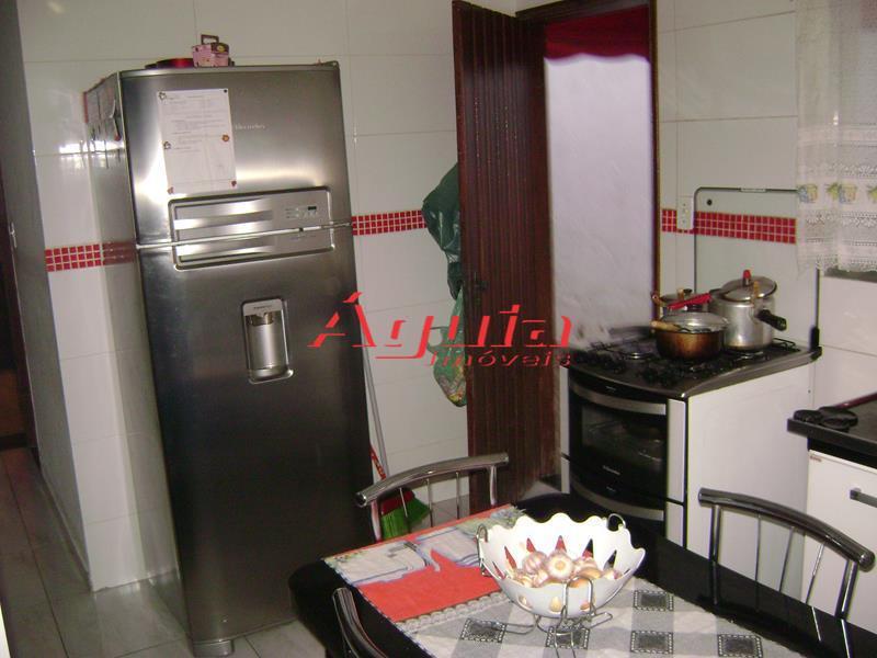 Casa residencial à venda, Jardim Santo Alberto, Santo André - CA0147.