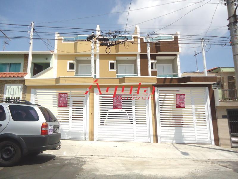 Sobrado residencial à venda, Parque Erasmo Assunção, Santo André - SO0442.