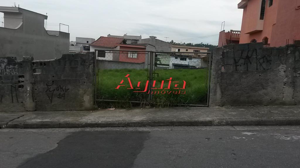 Terreno  residencial à venda, Jardim Teles de Menezes, Santo André.