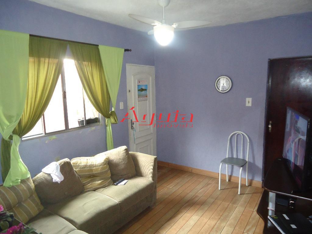 Casa residencial à venda, Jardim Itapoan, Santo André - CA0221.