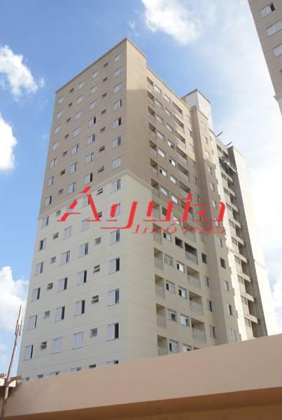 Apartamento residencial à venda, Utinga, Santo André - AP0795.