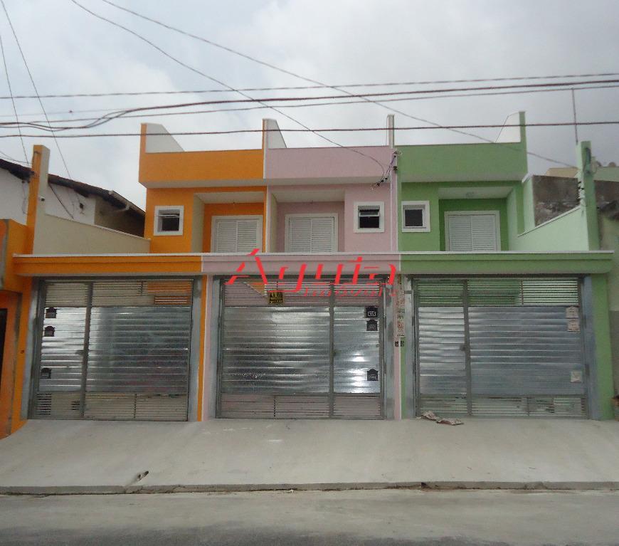 Sobrado  residencial à venda, Parque João Ramalho, Santo André.