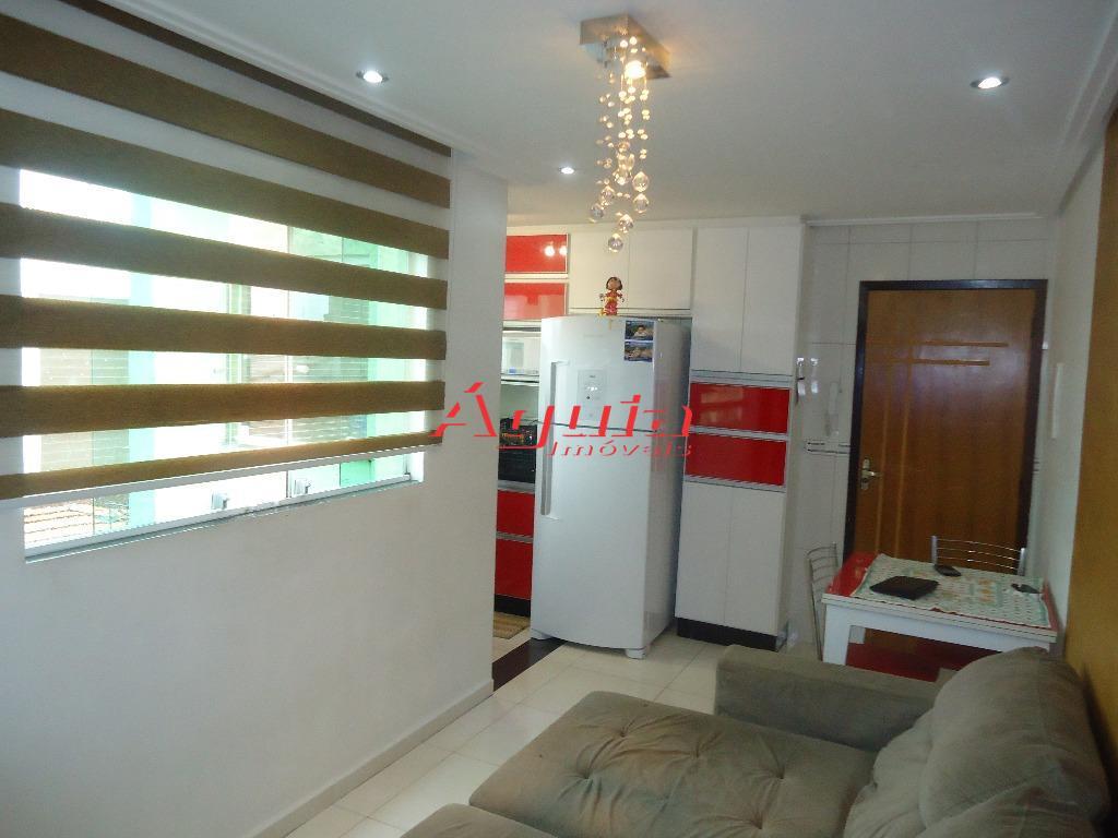 Cobertura Residencial à venda, Utinga, Santo André - CO0218.