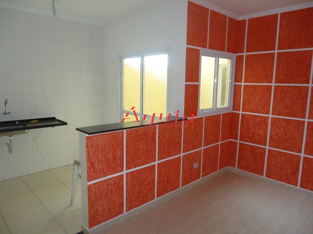 Apartamento residencial à venda, Jardim Ana Maria, Santo André - AP0045.