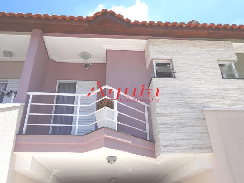 Sobrado residencial à venda, Parque das Nações, Santo André - SO0223.