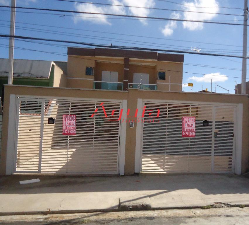 Sobrado residencial à venda, Vila Lucinda, Santo André - SO0121.