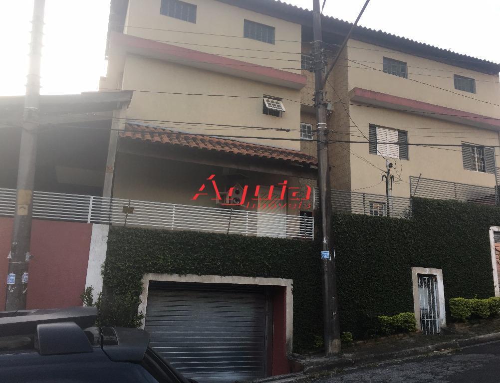 Sobrado residencial à venda, Vila Eldízia, Santo André.