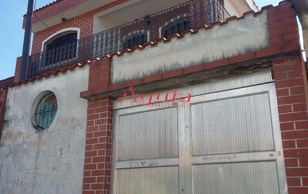 Sobrado residencial à venda, Vila Clarice, Santo André - SO0092.