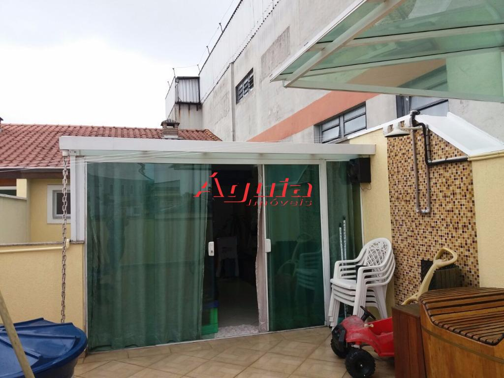 Cobertura residencial à venda, Vila Metalúrgica, Santo André.