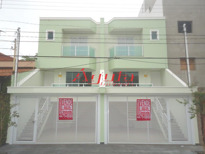 Sobrado residencial à venda, Parque das Nações, Santo André - SO0402.