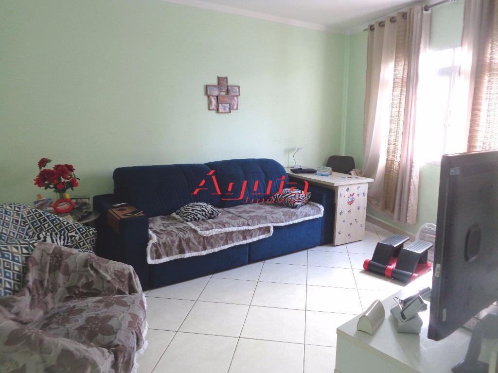 Sobrado residencial à venda, Jardim Santo Antônio, Santo André - SO0358.