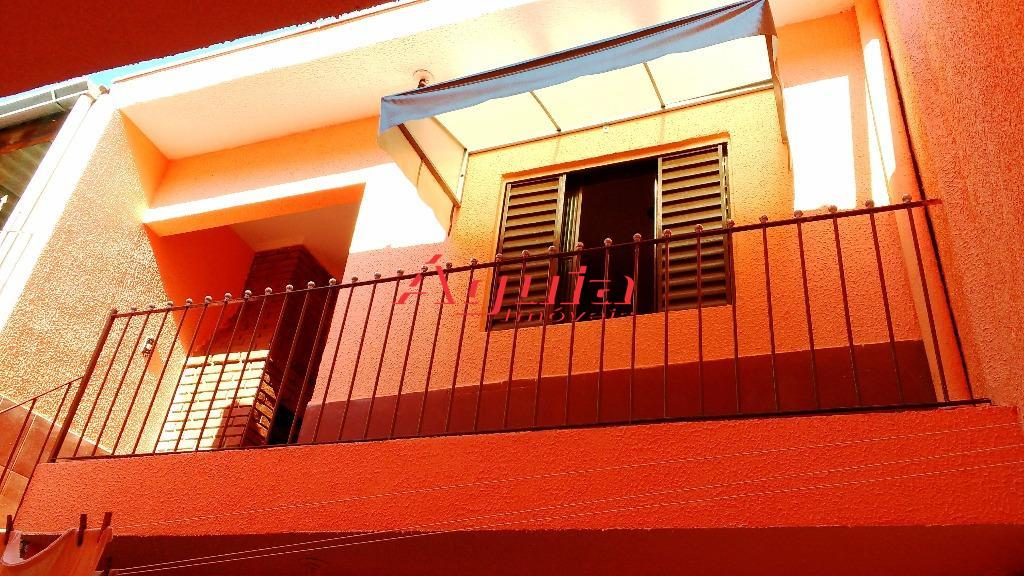 Sobrado residencial à venda, Jardim Alzira Franco, Santo André.