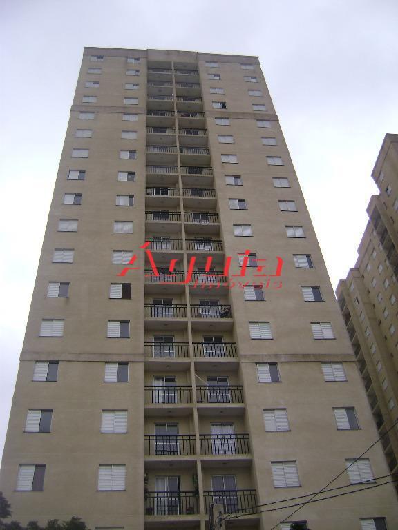 Apartamento residencial à venda, Parque Erasmo Assunção, Santo André - AP1041.