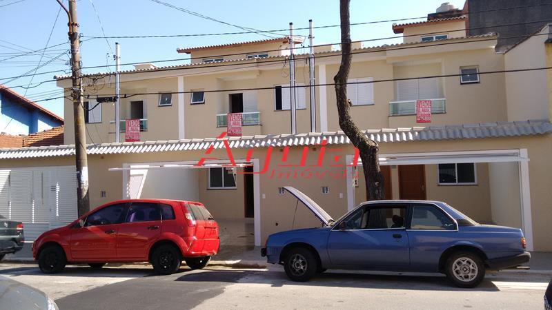Sobrado residencial à venda, Vila América, Santo André - SO0409.