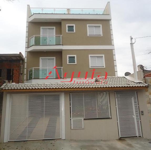 Cobertura Residencial à venda, Utinga, Santo André - CO0150.