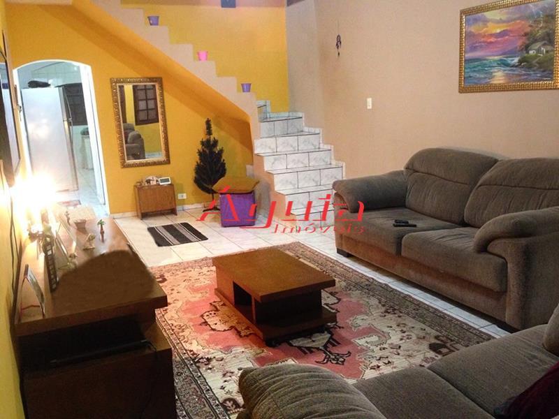 Sobrado Residencial à venda, Parque Jaçatuba, Santo André - SO0250.