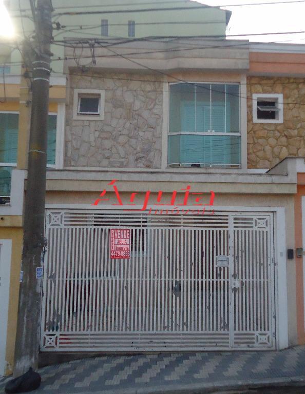 Sobrado residencial à venda, Vila Metalúrgica, Santo André.