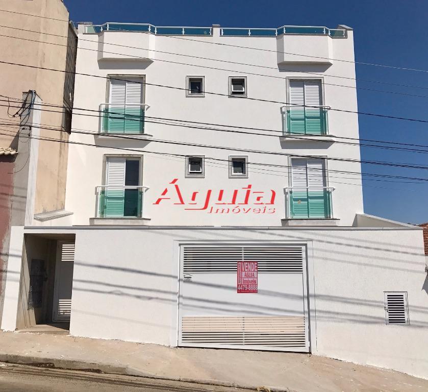 Cobertura residencial à venda, Vila Scarpelli, Santo André.