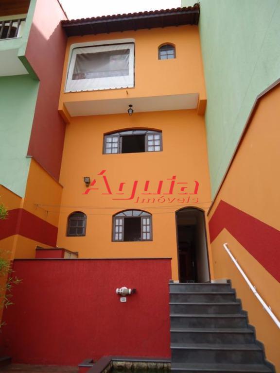 Sobrado Residencial à venda, Vila Curuçá, Santo André - SO0071.