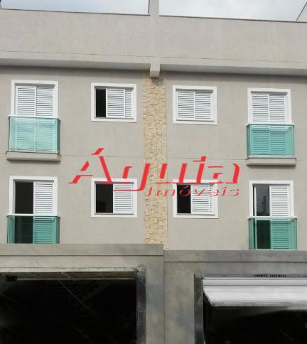 Apartamento residencial à venda, Vila Junqueira, Santo André.