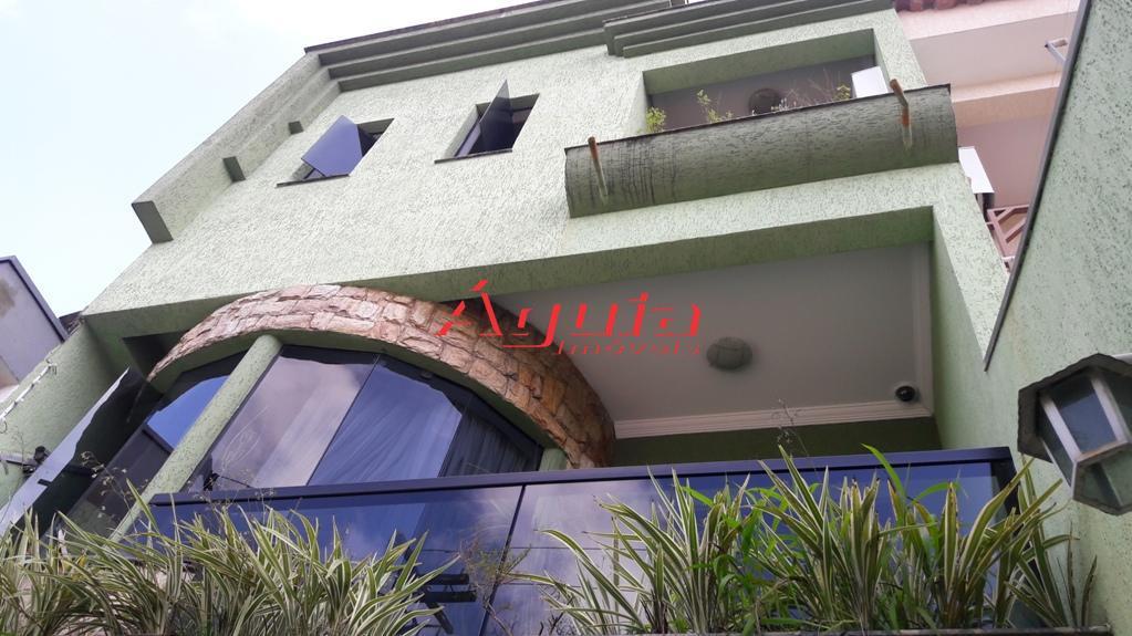 Sobrado residencial à venda, Parque Central, Santo André.