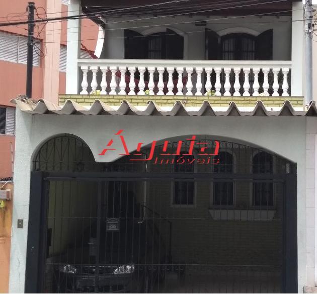 Sobrado residencial à venda, Santa Maria, São Caetano do Sul.