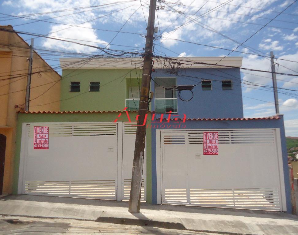 Sobrado com 3 dormitórios à venda, 80 m² por R$ 350.000 - Centreville - Santo André/SP