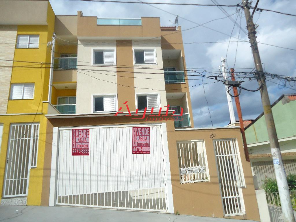Apartamento residencial à venda, Jardim Santo Antônio, Santo André - AP0303.