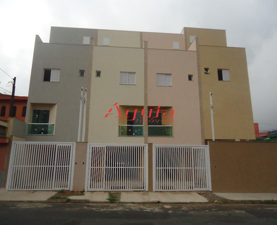 Sobrado residencial à venda, Vila Alzira, Santo André - SO0703.