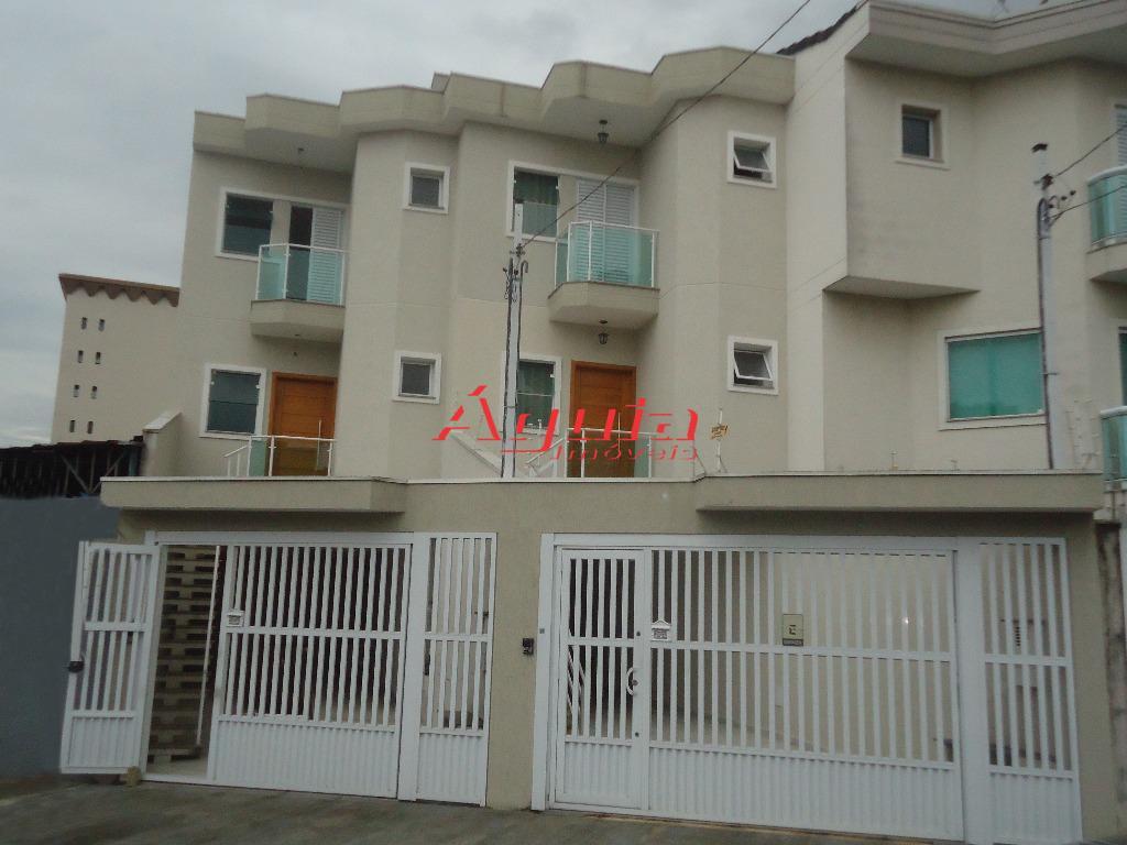 Sobrado residencial à venda, Vila Assunção, Santo André - SO0236.