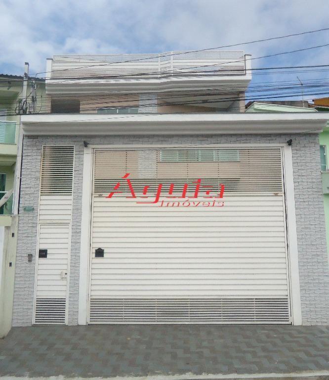 Casa residencial à venda, Jardim Rina, Santo André.