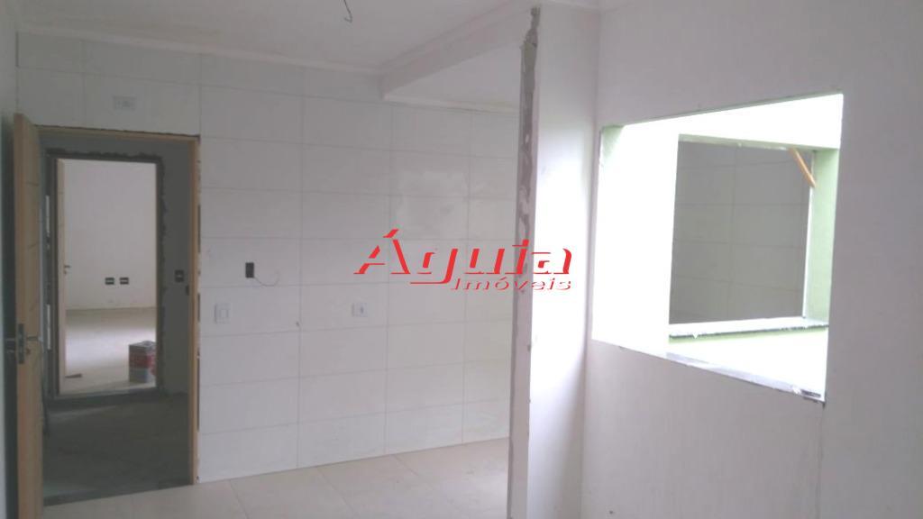 apartamento novo s/ condomínio no parque jaçatuba / com 2 dormitórios, sala, cozinha, banheiro, área de...