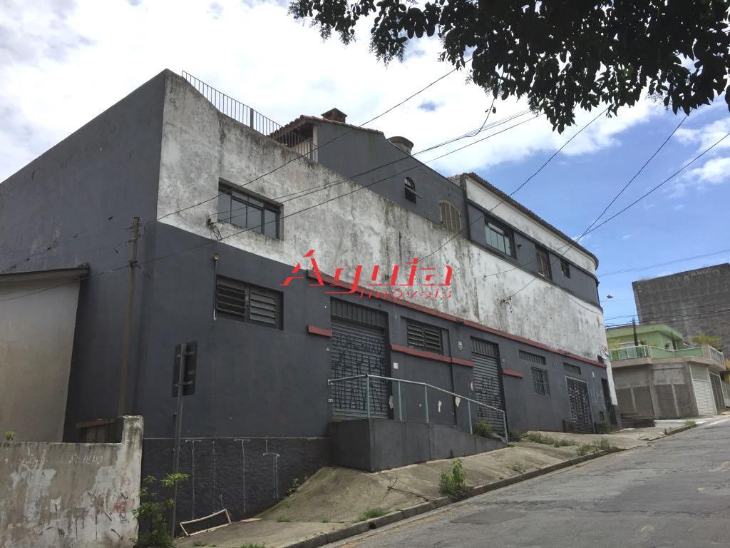 Galpão comercial à venda, Parque Novo Oratório, Santo André.