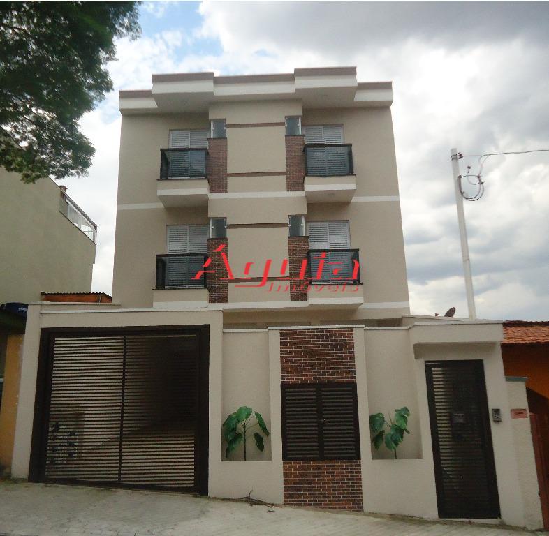 Apartamento residencial à venda, Vila Lucinda, Santo André.