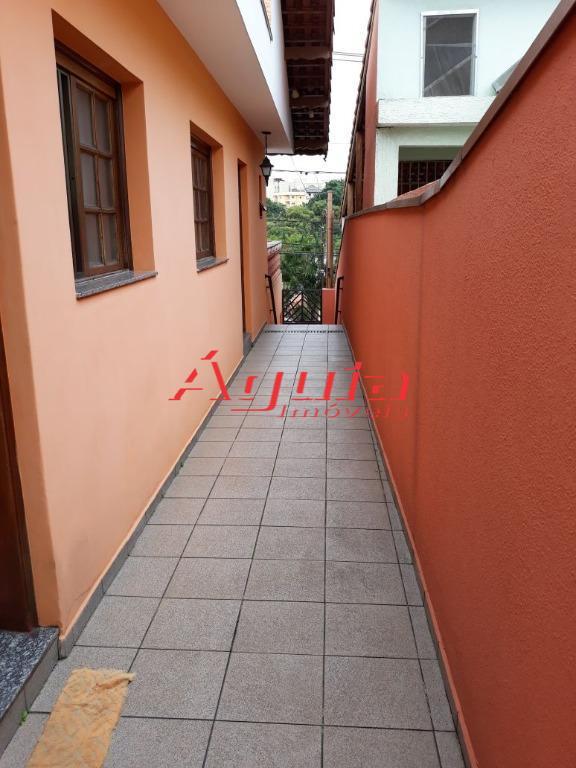 Casa residencial à venda, Jardim das Maravilhas, Santo André.