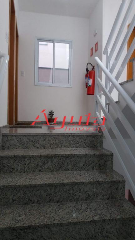 bairro campestre / apartamento novo s/ condomínio 70 m² à/ú - com 2 dormitórios, suite, sala,...