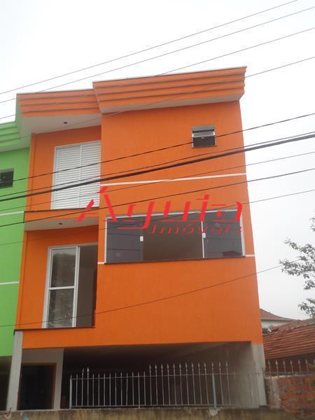 Sobrado Residencial à venda, Vila Curuçá, Santo André - SO0401.