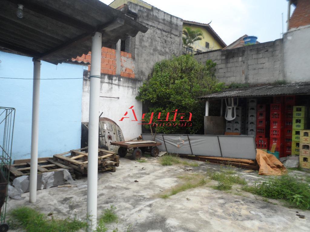 Terreno residencial à venda, Vila Linda, Santo André.