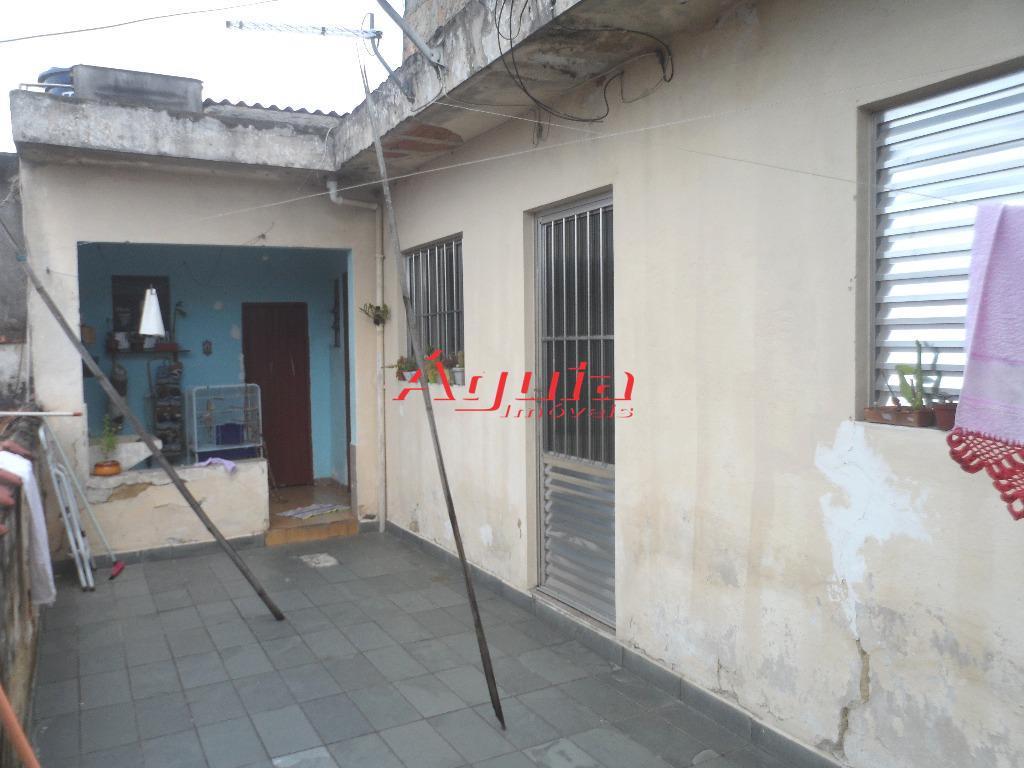 Sobrado residencial à venda, Vila Alzira, Santo André.