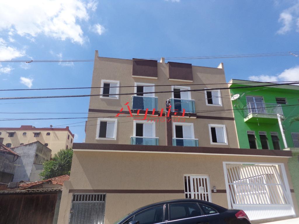 Apartamento residencial à venda, Vila Cecília Maria, Santo André.