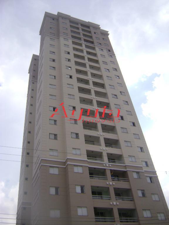 Apartamento residencial à venda, Parque das Nações, Santo André - AP1281.