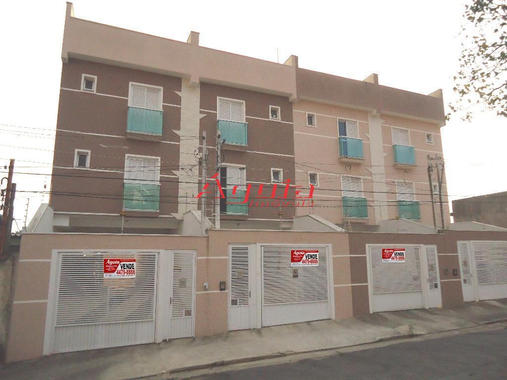 Apartamento residencial à venda, Vila Luzita, Santo André - AP0239.
