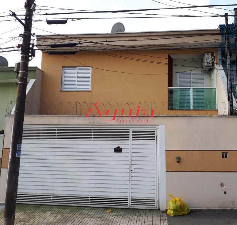 Sobrado residencial à venda, Jardim Utinga, Santo André.