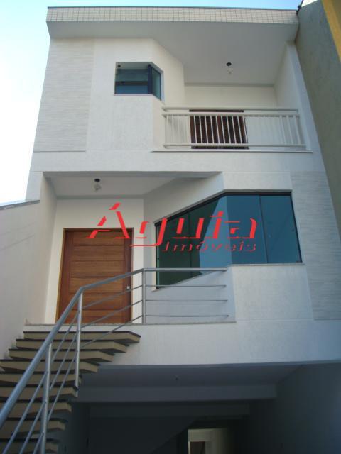 Sobrado residencial à venda, Parque das Nações, Santo André - SO0144.