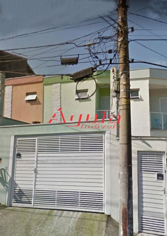 Sobrado residencial à venda, Parque João Ramalho, Santo André - SO0824.